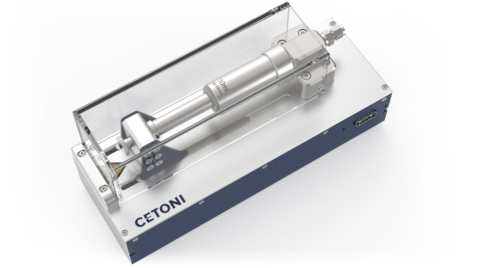 Nemesys Hochdruckmodul, syringe pump Nemesys high pressure