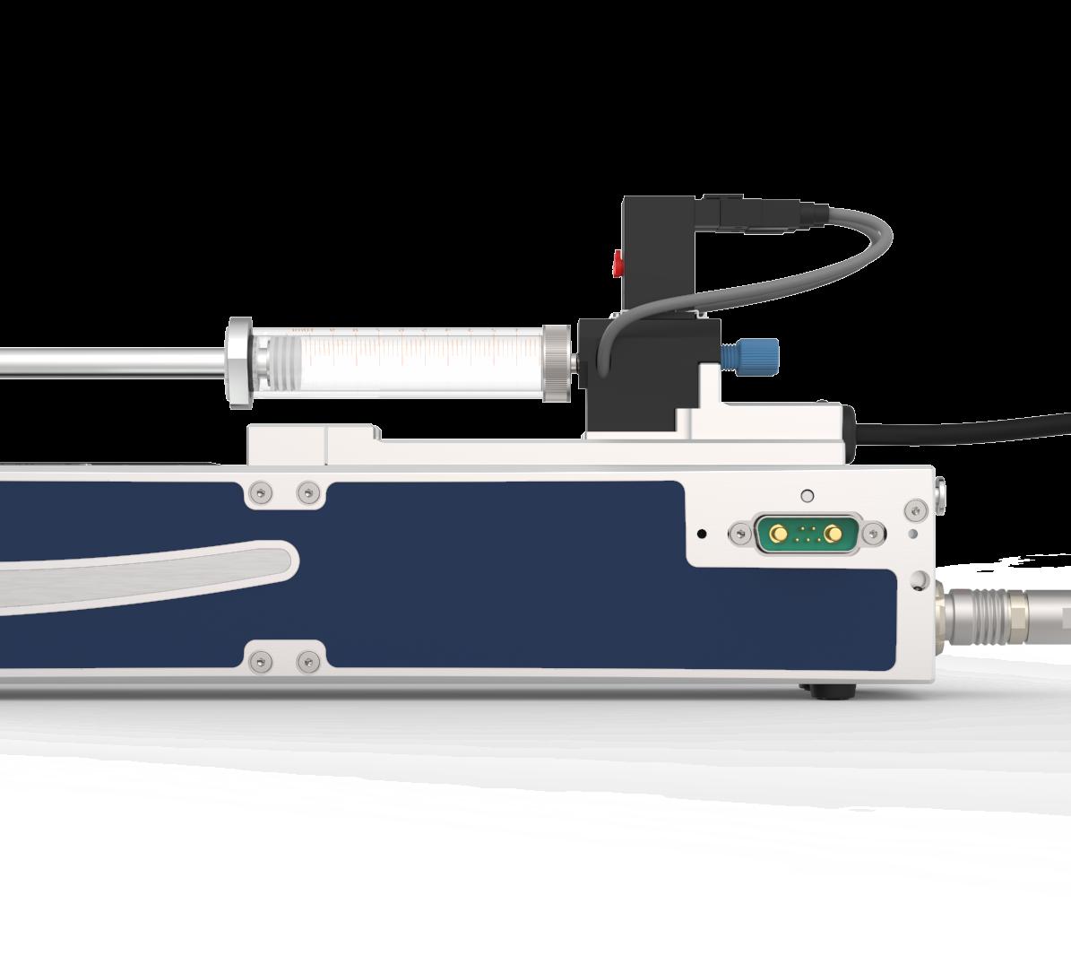 CETONI Nemesys S Flow System, pulsationsfreie Spritzenpumpe