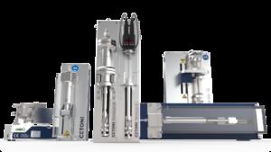 modular syringe pumps Nemesys flow system